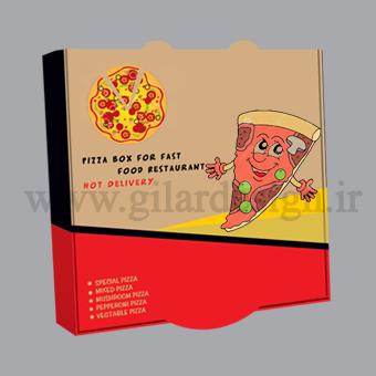 جعبه پیتزا تبریز