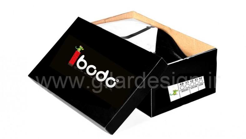 طراحی و چاپ بسته بندی جعبه کفش و لوازم یدکی