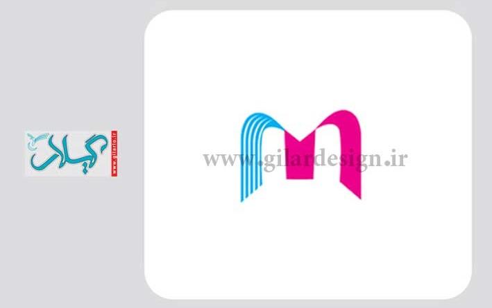طراحی آرم m